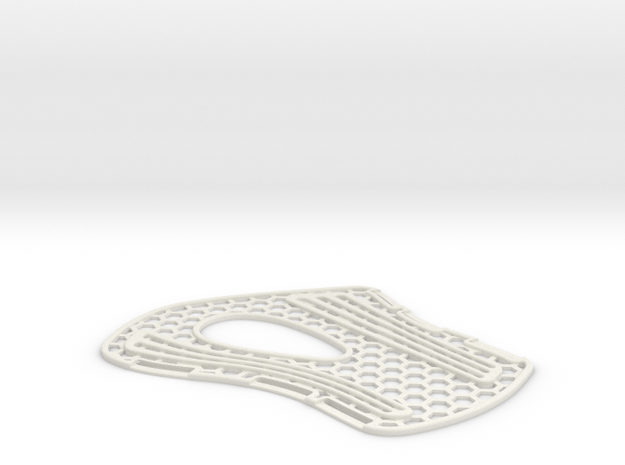 Wrist Brace (Universal Fit) in White Natural Versatile Plastic