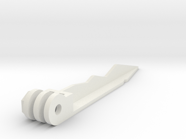 GoPro Ground Spike in White Natural Versatile Plastic