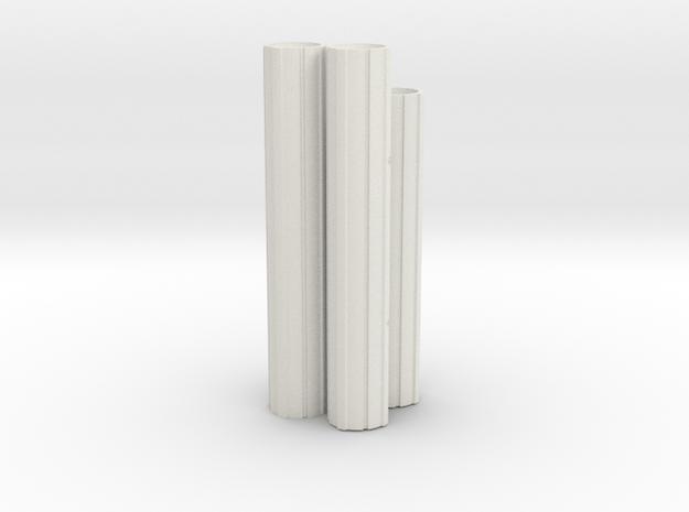 Engines - Front V0.1 in White Natural Versatile Plastic