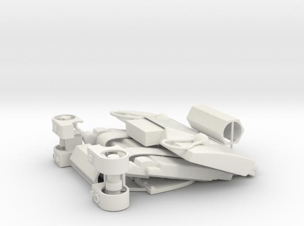 CARF Flash Seat  X1 detail kit in White Natural Versatile Plastic