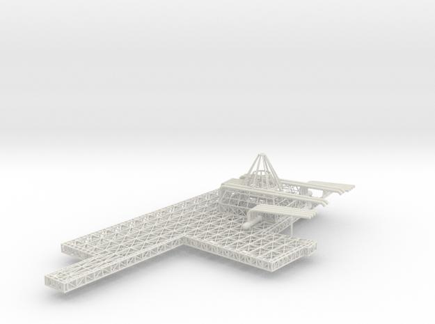 Stern Deck Upper Port V0.12 in White Natural Versatile Plastic