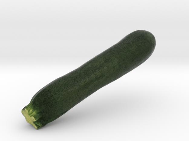 The Green Zucchini in Full Color Sandstone
