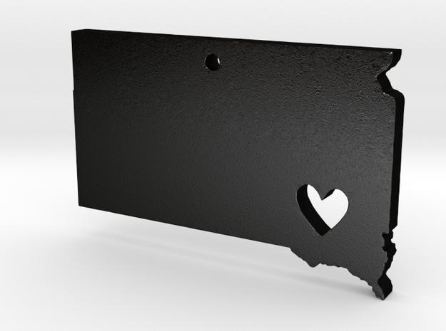 I love South Dakota Pendant in Matte Black Steel