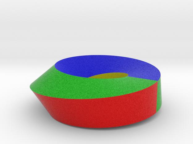 Möbius in Full Color Sandstone