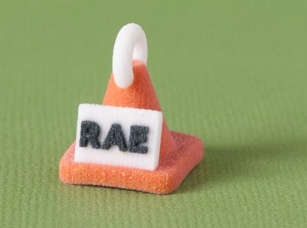 Rally RAE Title Cone Pendant in Full Color Sandstone