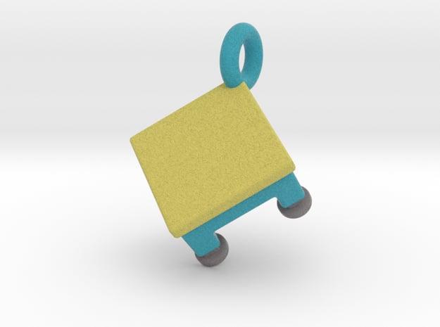 Agility Table Pendant (Blue Version) in Full Color Sandstone