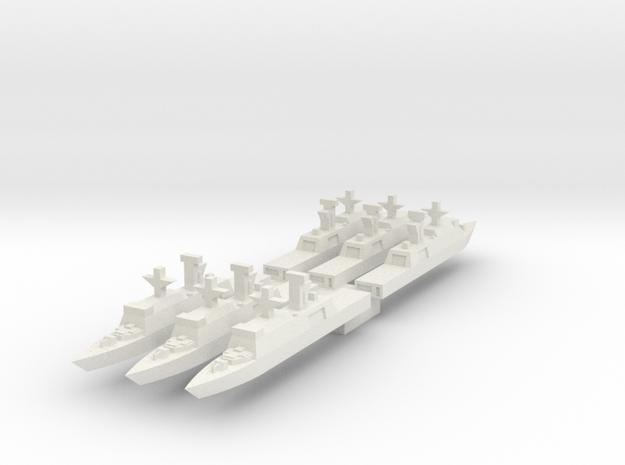 Generic,  X 6 in White Natural Versatile Plastic