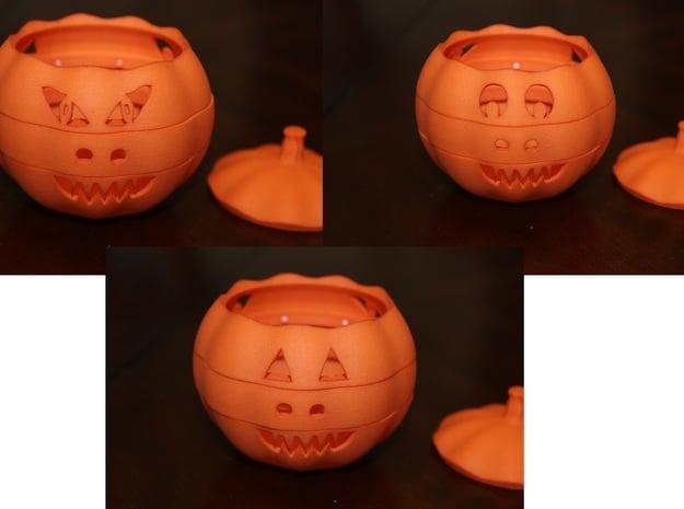 Dial-O-Lantern in Orange Processed Versatile Plastic