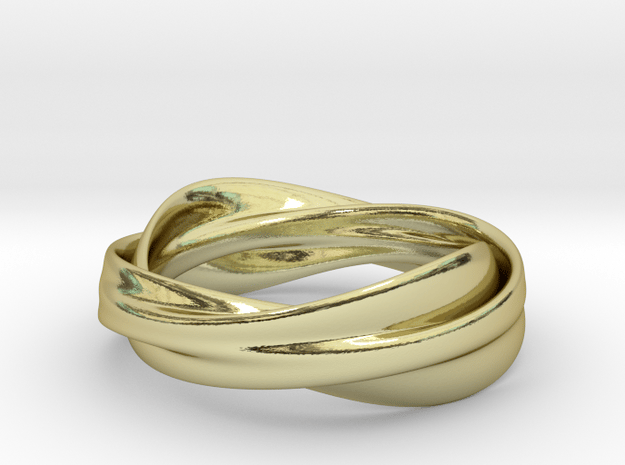 Like My Other Ring, But More Manly in 18k Gold