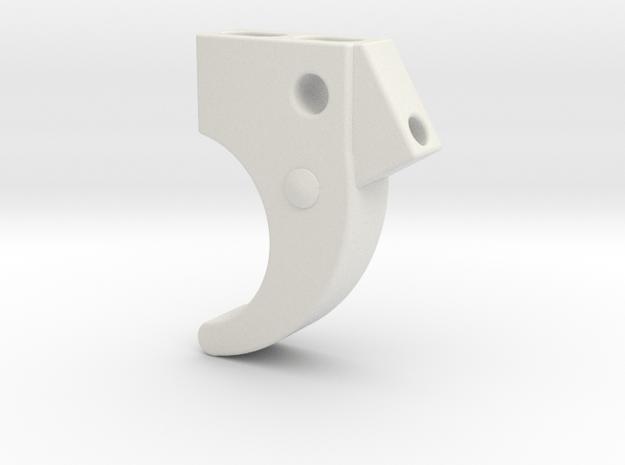 P40 Trigger in White Natural Versatile Plastic