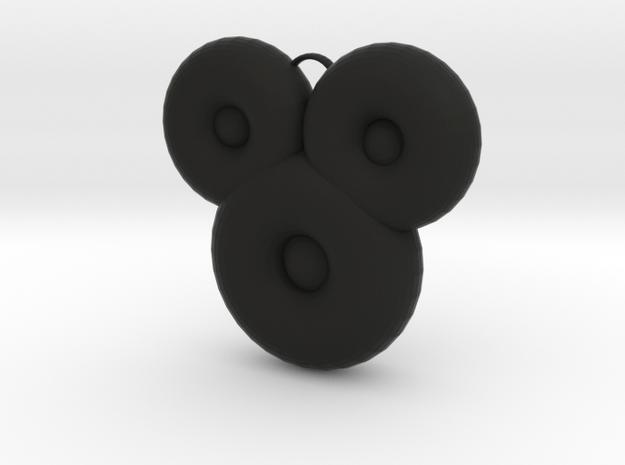 Mickeymouse in Black Natural Versatile Plastic