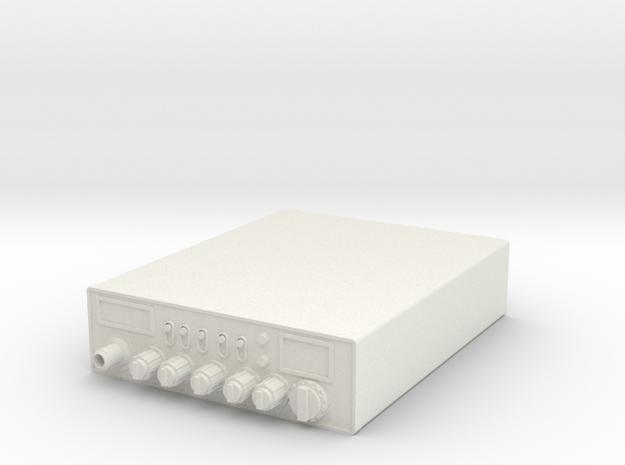 1/10 Scale Cobra 29 LTD CB Radio in White Natural Versatile Plastic