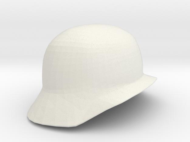Kidrobot Dunny Helmet in White Natural Versatile Plastic