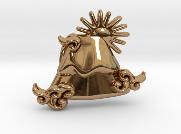 Mt-Fuji in Polished Brass
