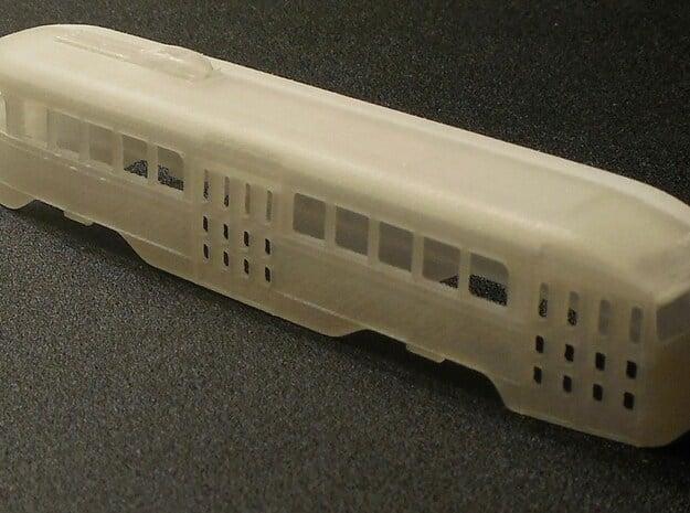 N Scale Prewar PCC PTC Version BODY #1 in Smoothest Fine Detail Plastic