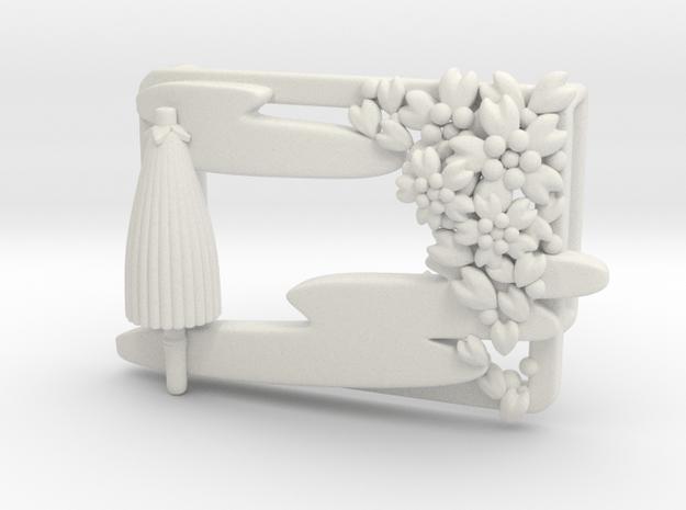 Scene in White Natural Versatile Plastic