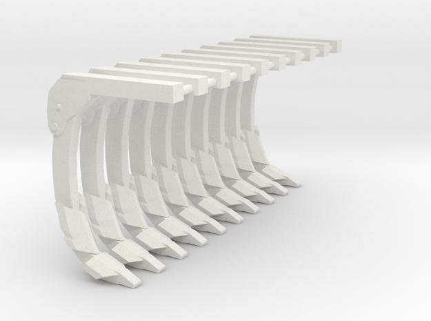 1/16 ripper shank 10 pack in White Natural Versatile Plastic