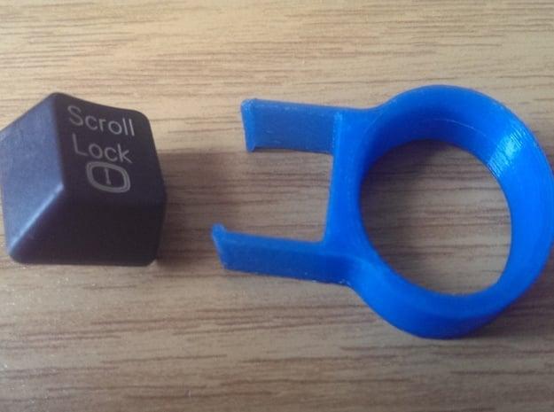 Usefull Gadgets - Keycap Puller/Remover in Blue Processed Versatile Plastic