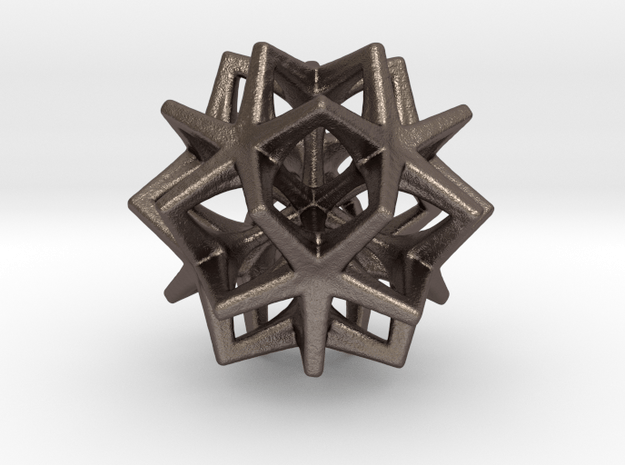 Artefact 41B in Polished Bronzed Silver Steel