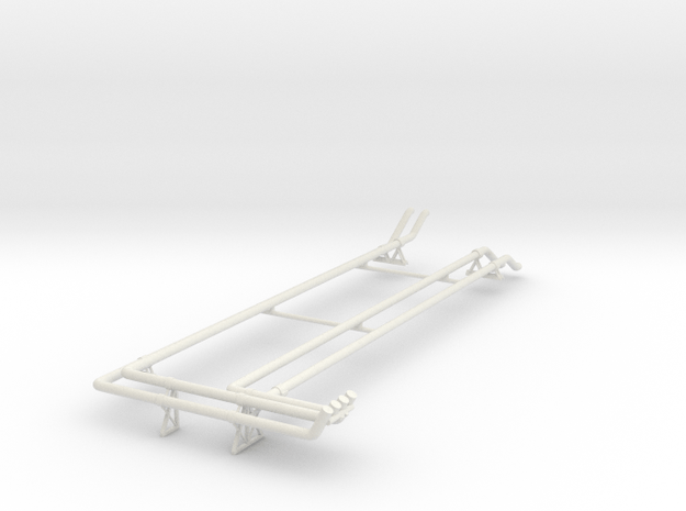 Fuel System B - Fwd Port V0.1 (repaired) in White Natural Versatile Plastic