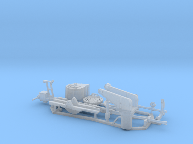 1:18 scale 20mm Cannon Set in Smooth Fine Detail Plastic