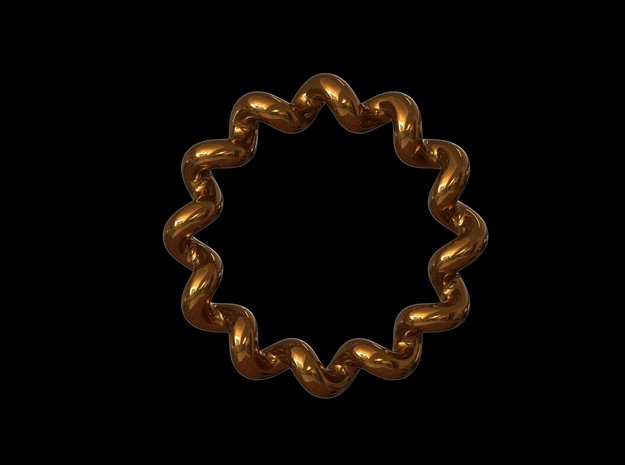 'SLOPPY' - Ø 17 in Polished Bronze