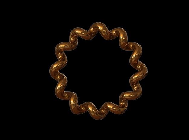 'SLOPPY' - Ø 19 in Polished Bronze