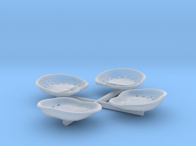Lokführersitz, 1:22,5 in Smooth Fine Detail Plastic