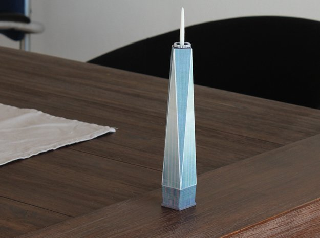 1 WTC in Full Color Sandstone