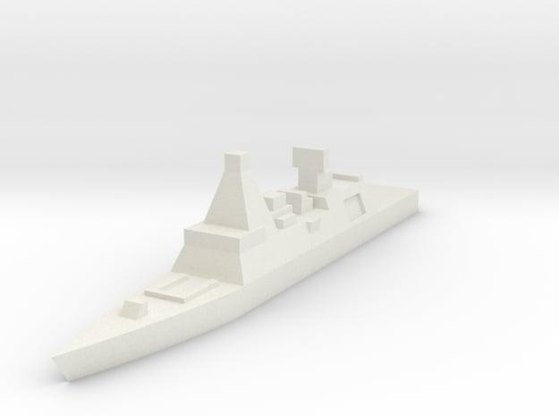 Royal Navy, Type 45 in White Natural Versatile Plastic