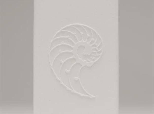 Nautilus Universal Charger Embossed 4400mah with U in White Natural Versatile Plastic