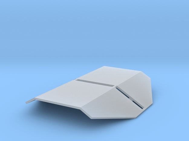 HO Scale Tank Car Shield for 1 Car in Smooth Fine Detail Plastic