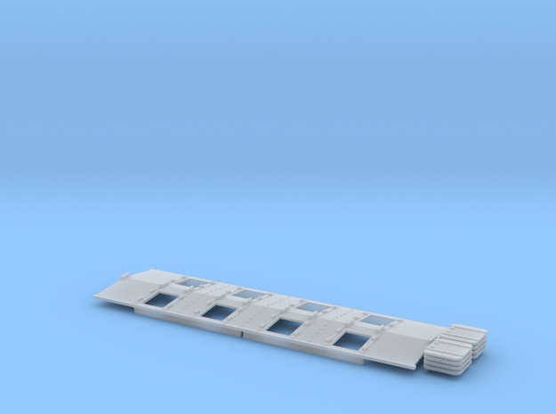 Phosphate Roof for P-9 hopper Separate Hatches in Smooth Fine Detail Plastic