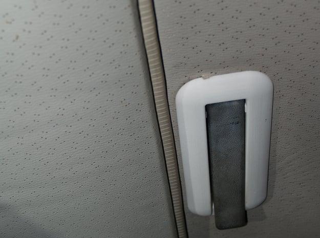 138004-01 Fiat Ritmo/Strada Sliding Sunroof Handle in White Natural Versatile Plastic