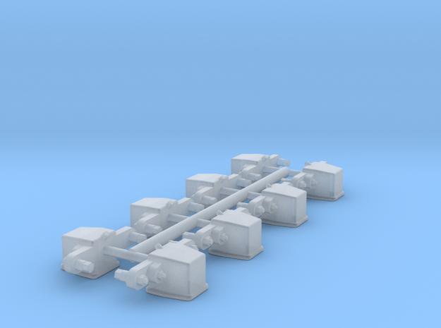 Achslager für GN 15 Unterwagen in Smooth Fine Detail Plastic