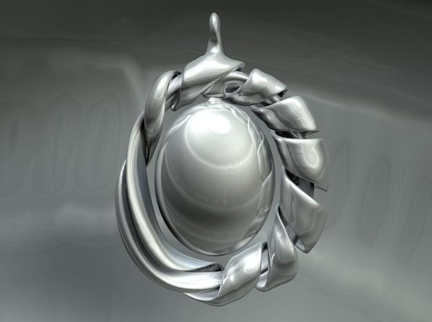 Felix' Pride pendant in Polished Nickel Steel