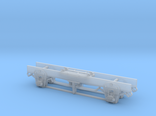 DSP&P Waycar Running Gear Sn3 in Smooth Fine Detail Plastic
