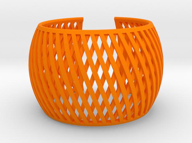 Bracelet Brace line  in Orange Processed Versatile Plastic