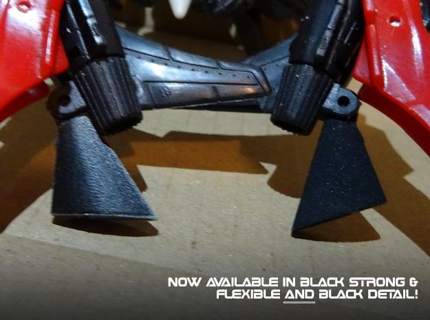 Generations Windblade - Upgraded Heel Spurs in Black Natural Versatile Plastic