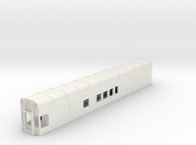 N Scale Rocky Mountaineer B Series 4'9 Platform in White Natural Versatile Plastic