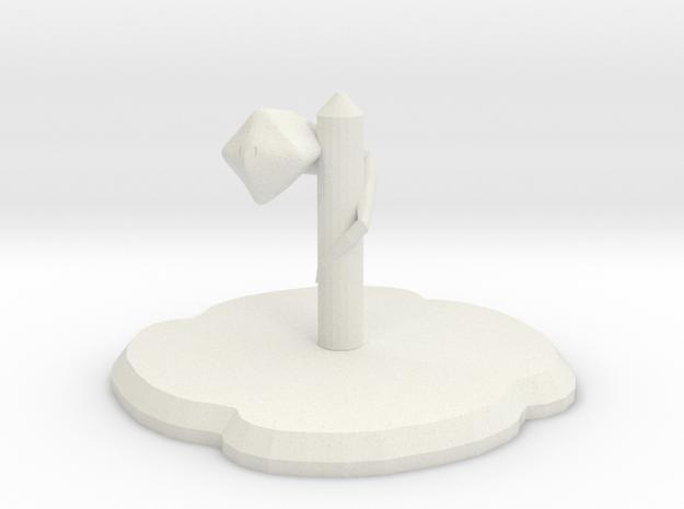 Knokai Figure in White Natural Versatile Plastic