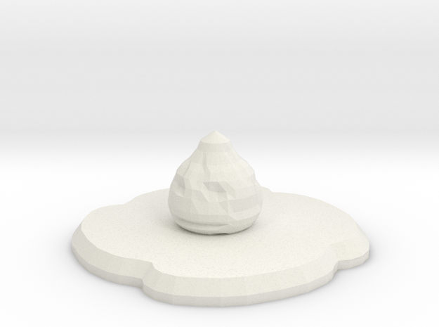 Meateorn in White Natural Versatile Plastic