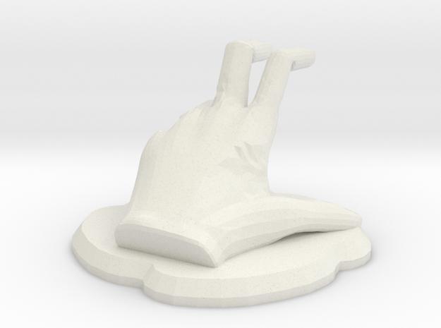 Griplore Figure in White Natural Versatile Plastic
