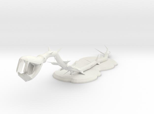Thornus in White Natural Versatile Plastic