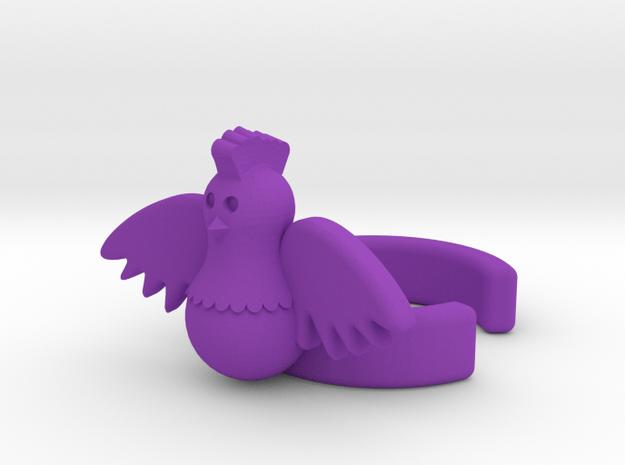 Hen Cuff (Right) in Purple Processed Versatile Plastic