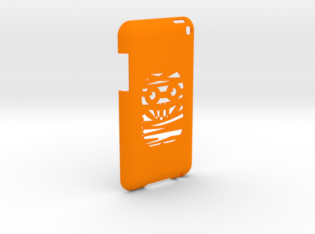 iPod Touch Cover in Orange Processed Versatile Plastic