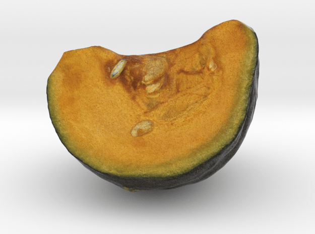 The Pumpkin in Full Color Sandstone
