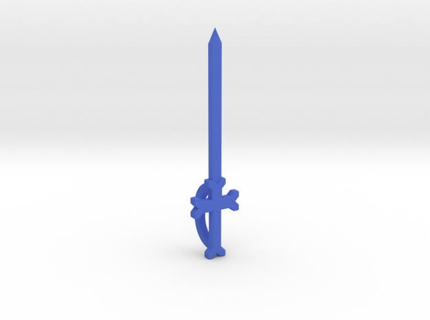 The Sword of Sunshine in Blue Processed Versatile Plastic