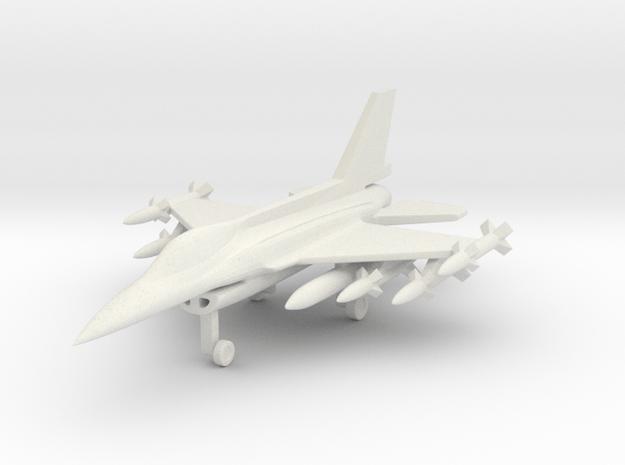 1/285 (6mm) F-16I SUFA  in White Natural Versatile Plastic