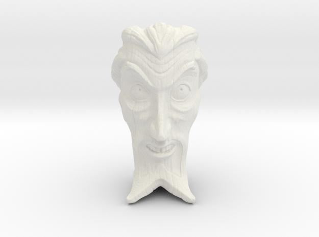 DrOrpheusTiki. 2mm thick in White Natural Versatile Plastic
